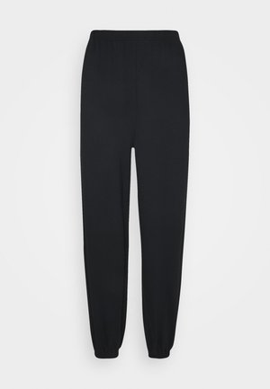 Loose fit tracksuit bottoms - Tracksuit bottoms - black