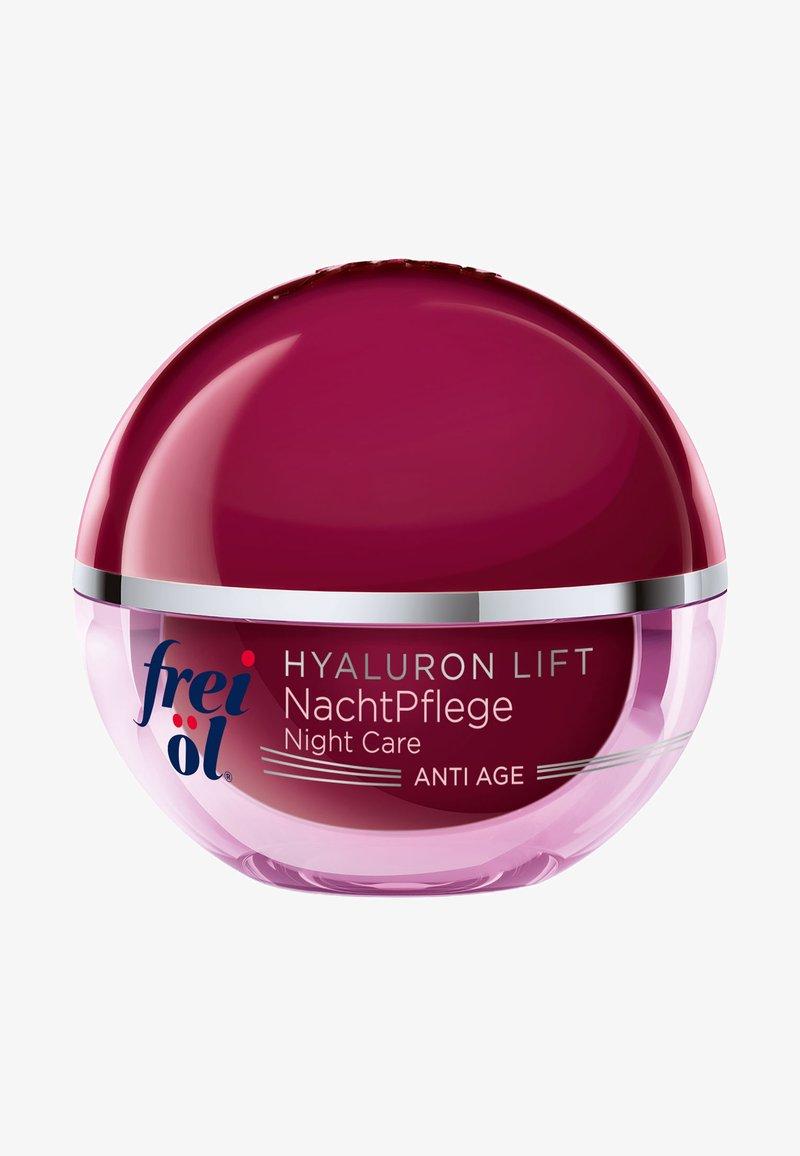 frei öl - ANTI AGE HYALURON LIFT NACHTPFLEGE - Anti-Aging - -