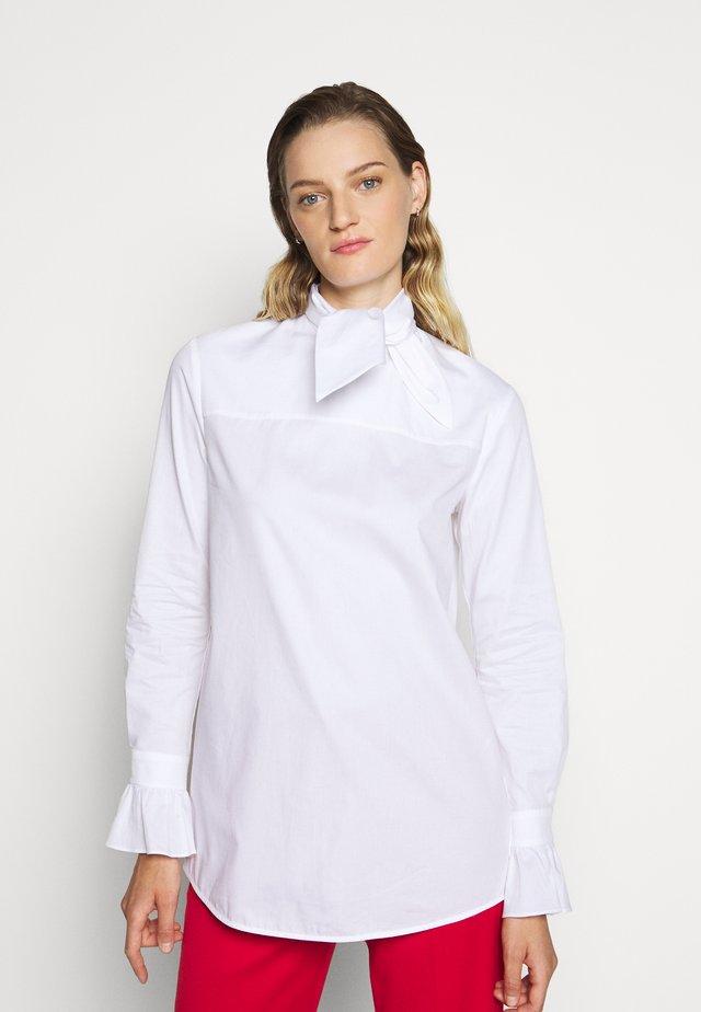 NECK TIE  - Chemisier - white