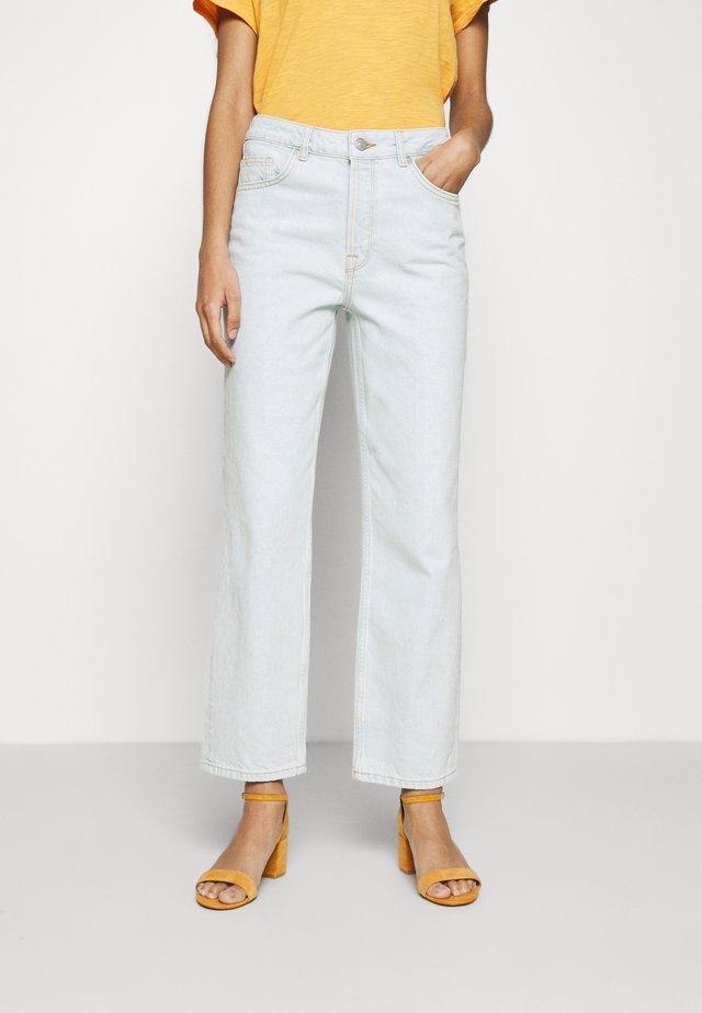 SLFKATE - Straight leg jeans - light blue denim