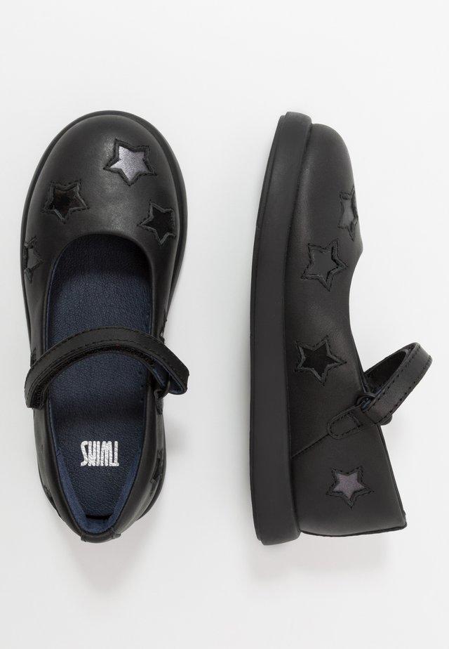 KIDS - Ankle strap ballet pumps - black
