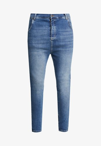 Trousers - midstone blue