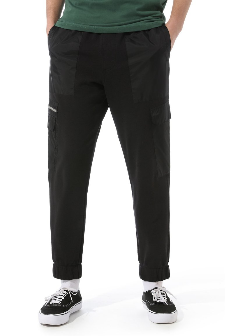 Vans - MN 66 SUPPLY FLEECE PANT - Tracksuit bottoms - black