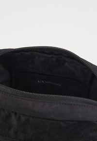 Armani Exchange - SMALL CROSSBODY BAG - Across body bag - black - 3
