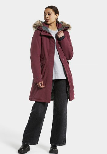 ERIKA WNS  - Winter coat - rot