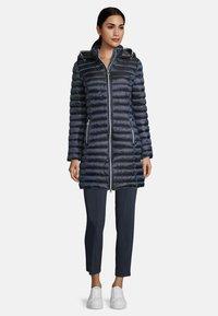 Betty Barclay - MIT STEHKRAGEN - Winter coat - dunkelblau - 1