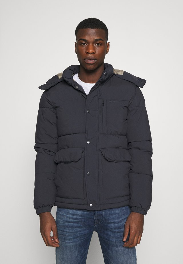 JORDARREN PUFFER JACKET - Winter jacket - dark navy