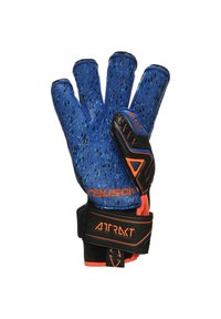 Reusch - Goalkeeping gloves - black / shocking orange / deep blue - 2