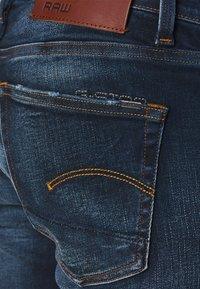 G-Star - 3301 SLIM - Slim fit jeans - worn in dusk blue - 3