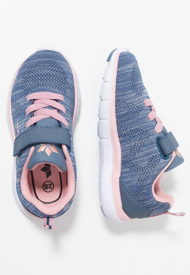 COLOUR - Trainers - blau/grau/rosa