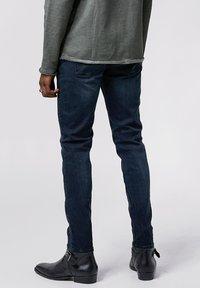 Tigha - MORTY - Slim fit jeans - dark blue - 2