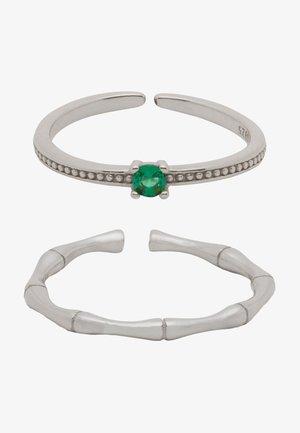 SET - Ring - silber