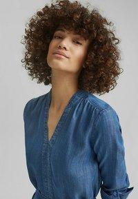 Esprit - Denim dress - blue medium washed - 3