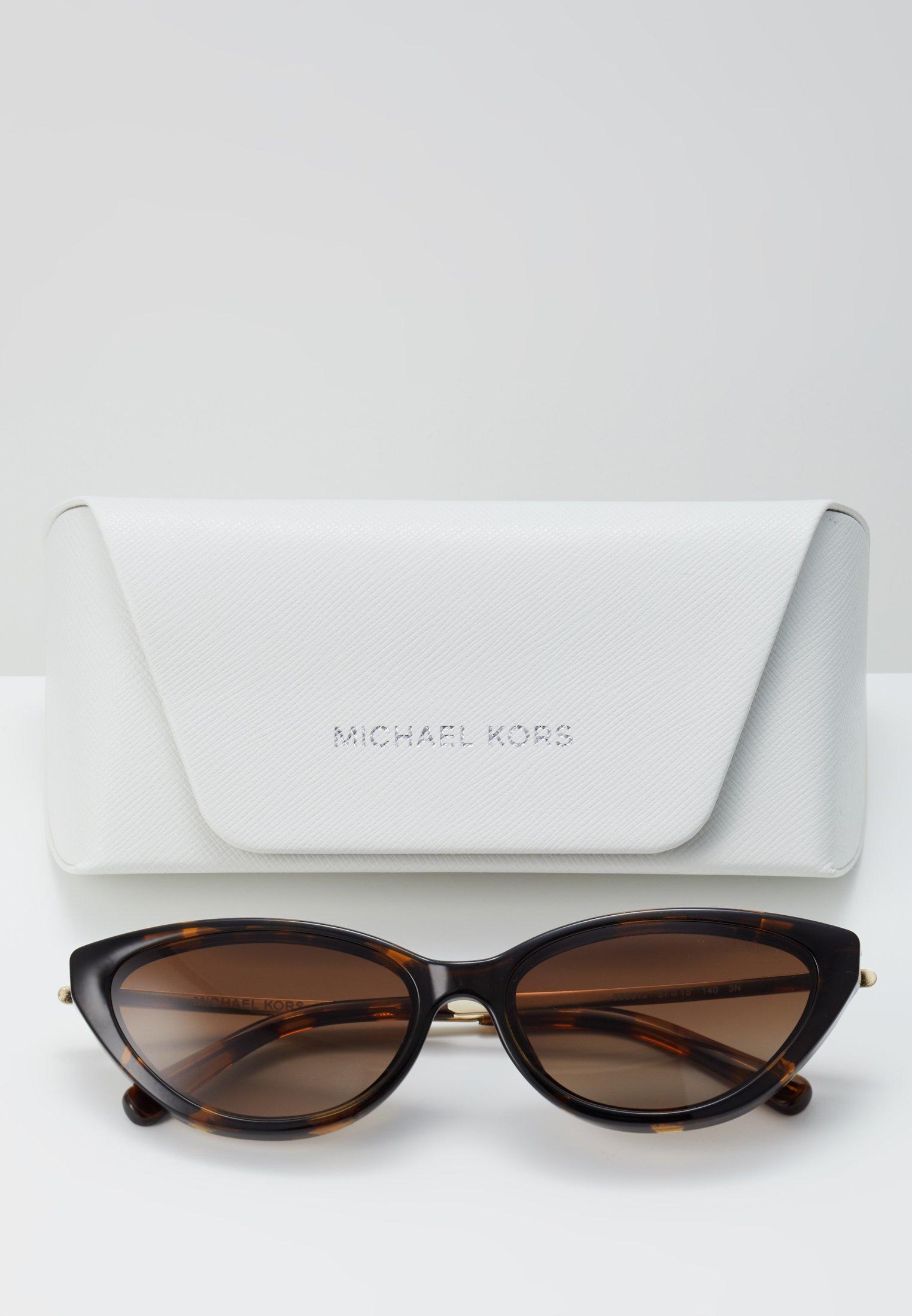 Cena fabryczna Gorąca wyprzedaż Michael Kors Okulary przeciwsłoneczne - dark tortouise | Akcesoria damskie 2020 IiVLw
