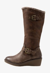 Refresh - Wedge boots - taupe - 1