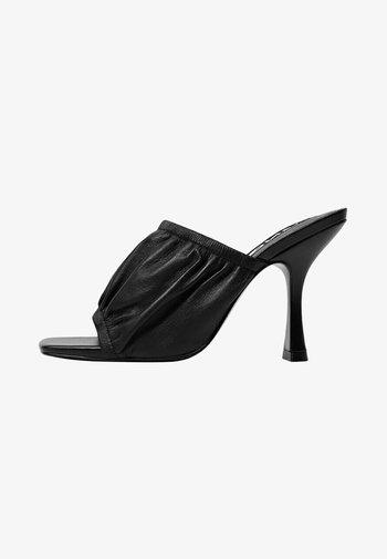 RUFF - Sandaler - black