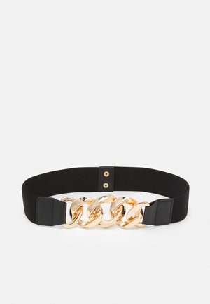 PCALVIA WAIST BELT - Pásek - black/gold-coloured