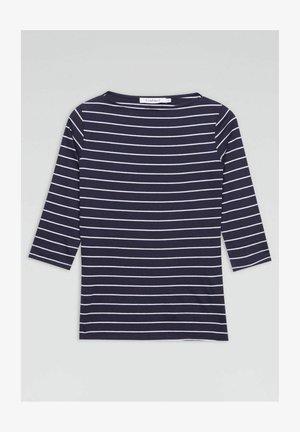 T-shirt con stampa - blu scuro