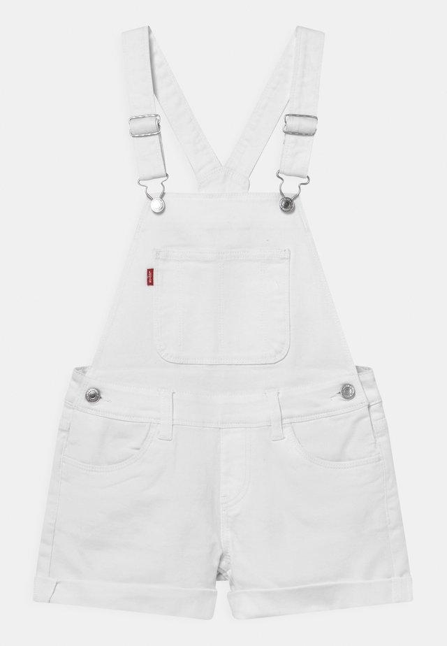 SHORTALL - Overall /Buksedragter - white