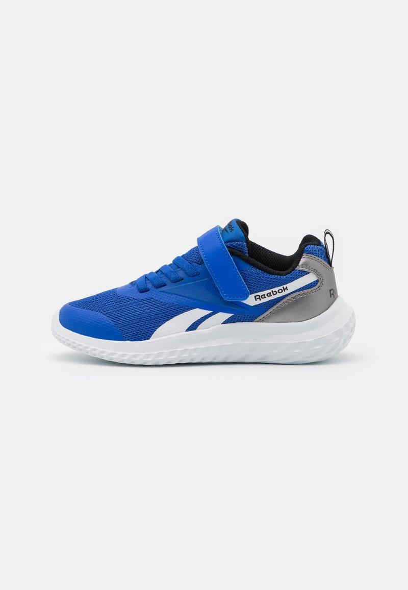 Reebok - RUSH RUNNER 3.0 UNISEX - Neutrální běžecké boty - court blue/black/tech metallic