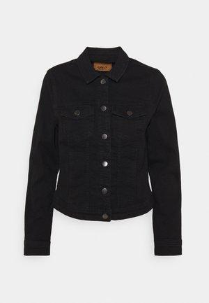 ONLWONDER LIFE JACKET - Jeansjakke - black denim