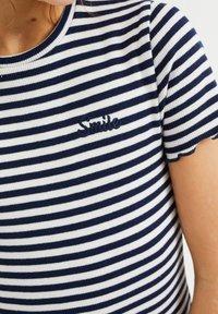 WE Fashion - T-shirt basic - dark blue - 2