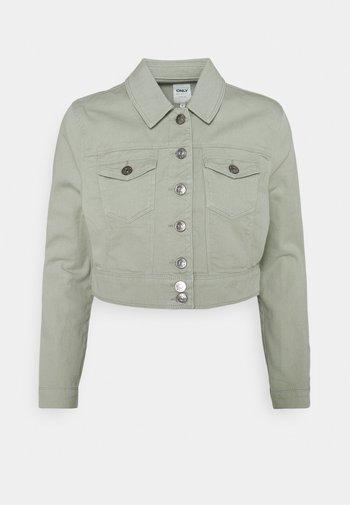 ONLWESTA COLOR CROPPED JACKET - Denim jacket - desert sage