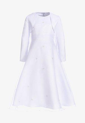 MIT BLUMEN ORGANZA - Cocktailkleid/festliches Kleid - white