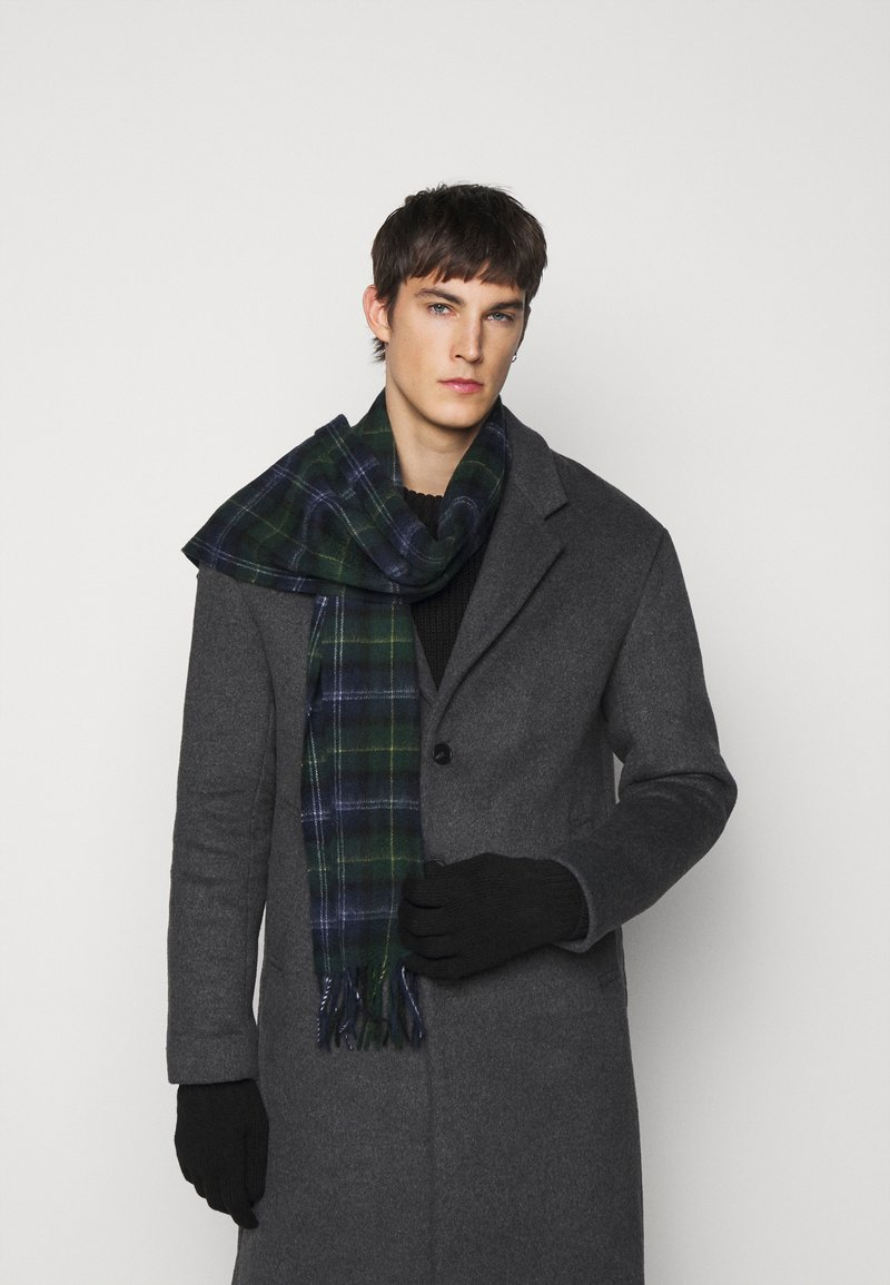 Barbour - TARTAN SCARF AND GLOVE GIFT SET UNISEX - Scarf - seaweed