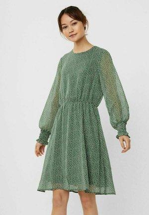 Day dress - dark ivy