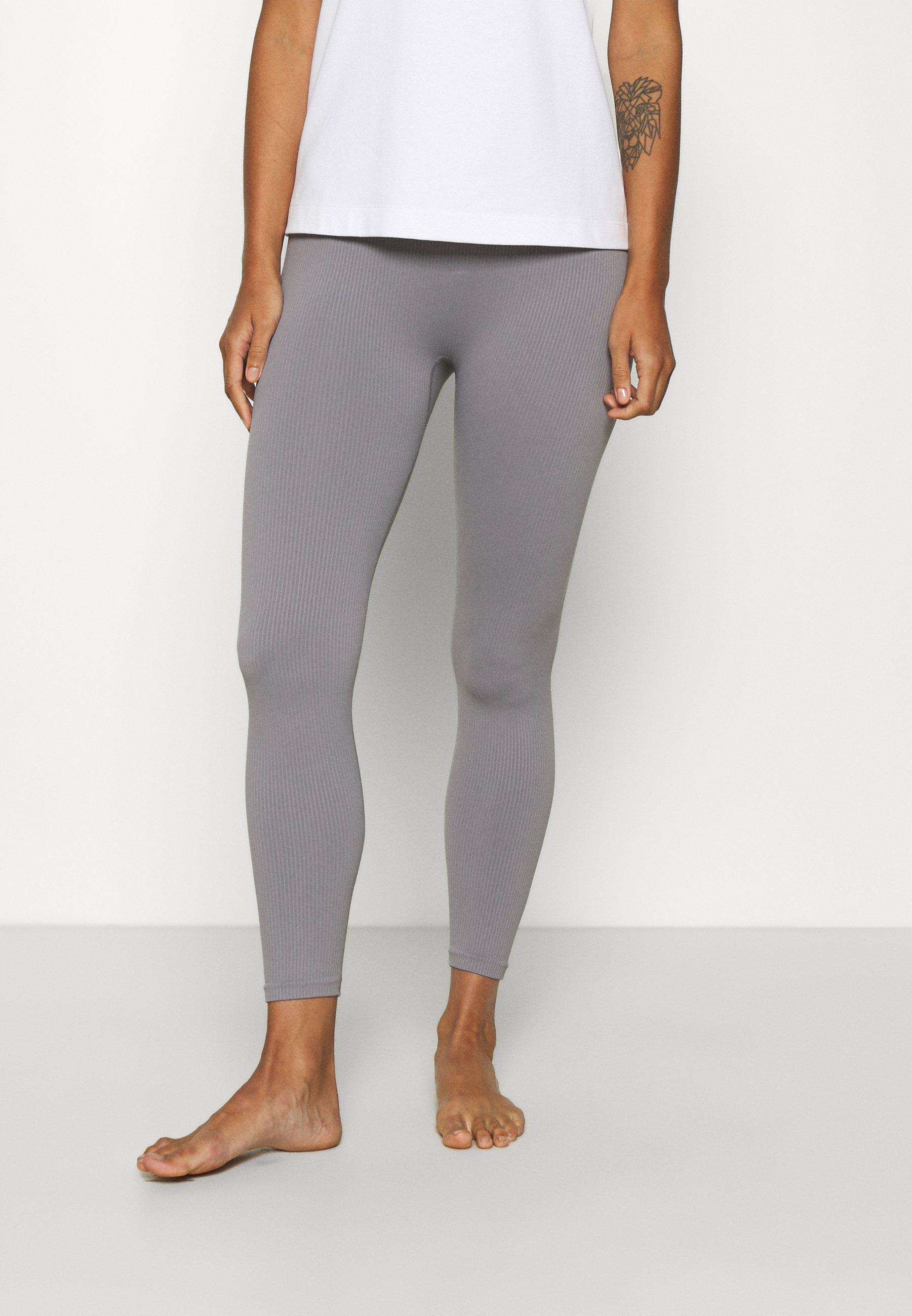 Women RIBBED 7/8 LEGGING - Leggings - Stockings