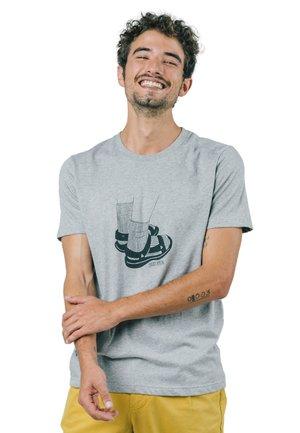 APPEAL - Print T-shirt - grey