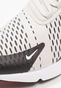Nike Sportswear - AIR MAX 270 - Sneakers - black/light bone/hot punch/white - 5