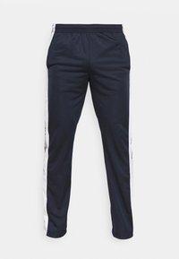 STRAIGHT HEM PANTS - Trainingsbroek - dark blue