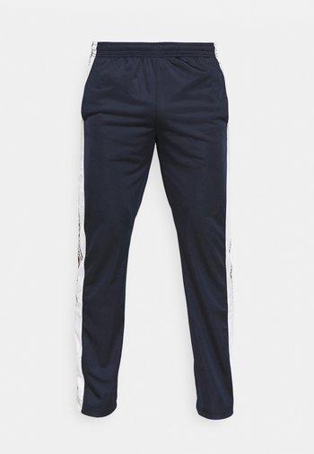 STRAIGHT HEM PANTS - Träningsbyxor - dark blue