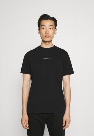THOR LOGO  - Jednoduché triko - anthracite black