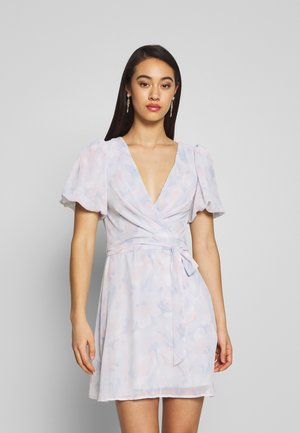 PUFF SLEEVE DRESS - Vestito estivo - multicoloured
