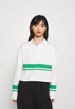 ONLLIMA - Polo shirt - white/green