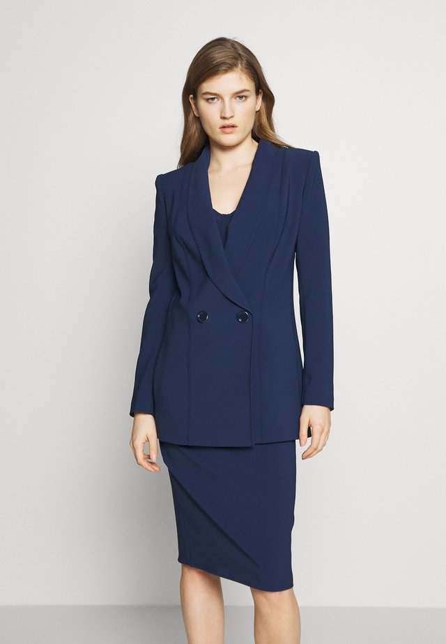 Short coat - blue navy