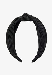 Stradivarius - STARRER PLISSÉE - Hair styling accessory - black - 2