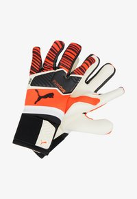 Puma - ONE GRIP HYBRID PRO - Goalkeeping gloves - red/black/white - 2