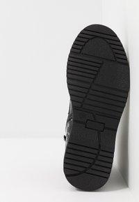 LIU JO - PAT BIKERS - Šněrovací kotníkové boty - black - 5