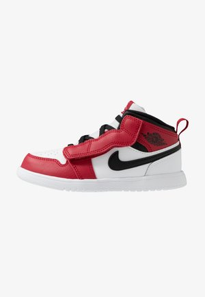 1 MID ALT - Basketball shoes - white/gym red/black
