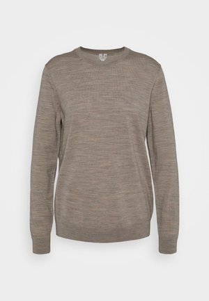 Jumper - beige medium dusty