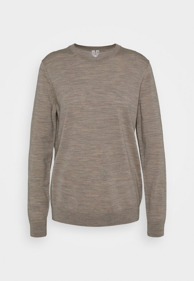 SWEATER - Jumper - beige medium dusty