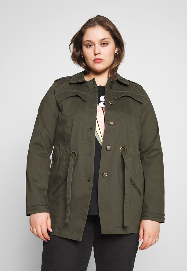 YFREYA JACKET - Summer jacket - ivy green