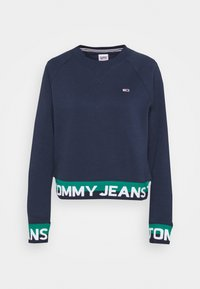 Tommy Jeans - BRANDED HEM - Sweatshirt - twilight navy - 3