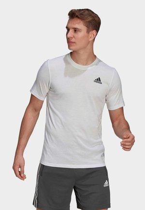 AEROREADY DESIGNED 2 MOVE  - Treningsskjorter - white