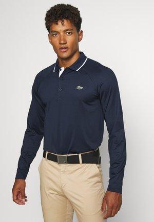 Sports shirt - navy blue/white