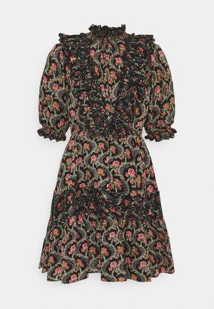 SLUB MINI DRESS - Day dress - dark wallpaper